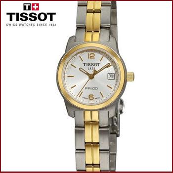 Reloj Tissot de Dos Tonos para Mujer
