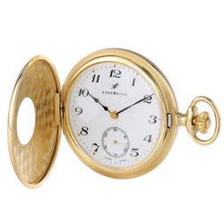 Reloj de Bolsillo con Números Romanos Mecánico para Hombre