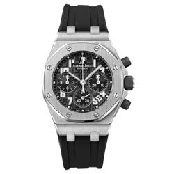 Reloj Negro Royal Oak Offshore Cronógrafo