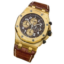 Reloj Royal Oak Offshore Arnold Schwarzenegger Oro Amarillo